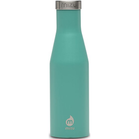 MIZU S4 Botella con aislamiento con Tapa Acero Inoxidable 400ml, enduro spearmint